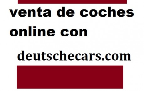 Compra de coches online